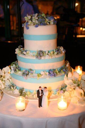 Lighted cake