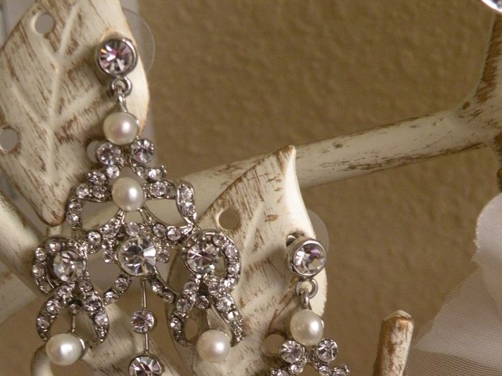 Tmx 1418237336327 Baroque Earrings C Tampa wedding dress
