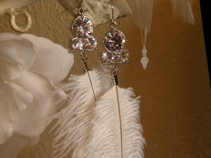 Tmx 1418237409345 Feather Strand Earrings F Tampa wedding dress