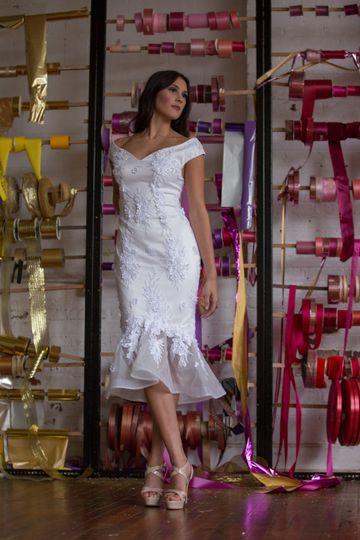 Short Bridal dress bey Z.F.