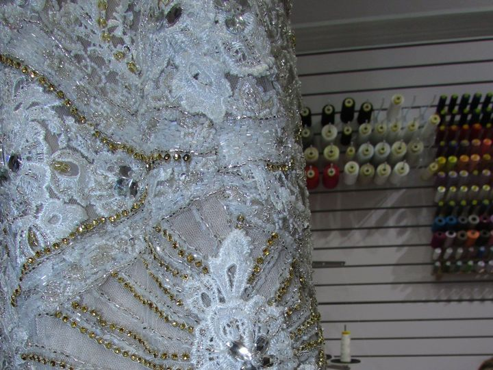 Tmx 1517338956 A62f8a034ff26955 1465850914761 Img5408 Red Bank wedding dress