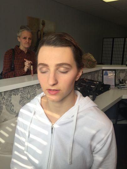 Makeover in progress
