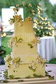 For an outdoor Paradise Garden Theme, decorate the cake to continue the theme and the flavors can...
