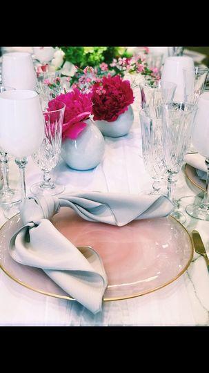 Beautiful reception table