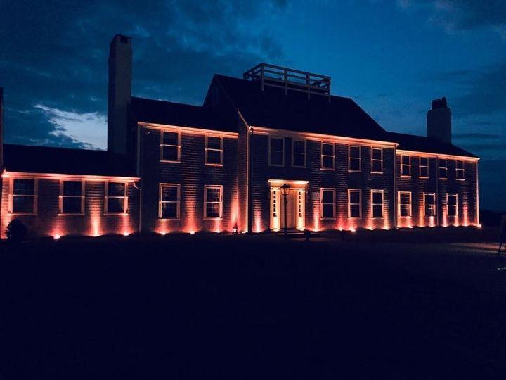 Amber Uplight Building