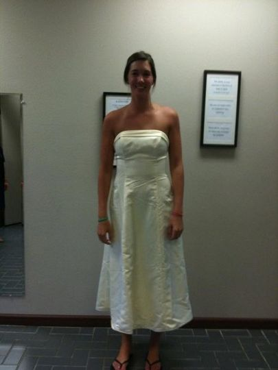 Bridal Dress altered by Alterations inc