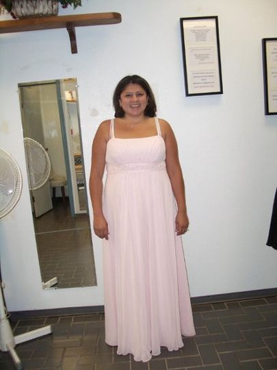 Bridal gown altered by Alterations Inc