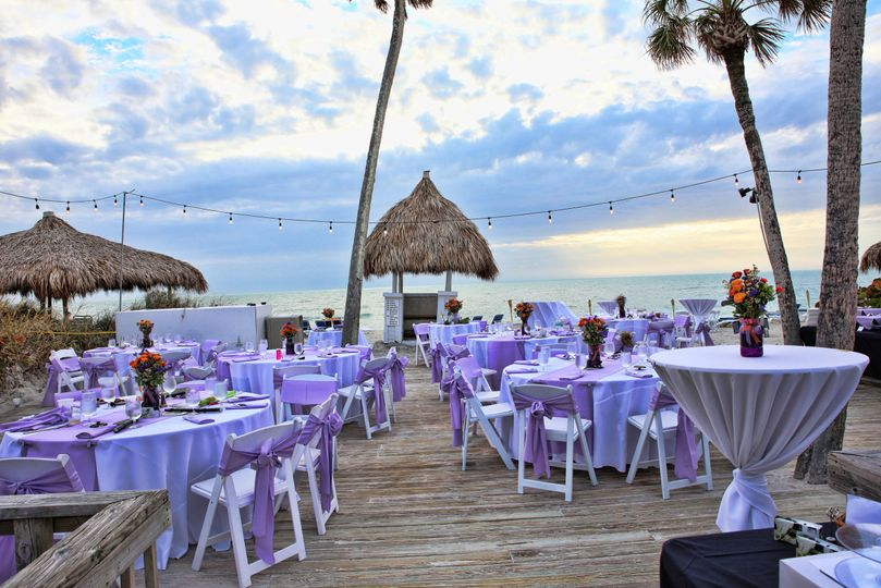 Sunset Deck Wedding Reception