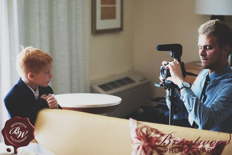 Capturing some cute moments with the kiddos! Photo by Brentwood Photography.