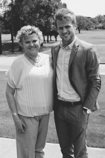 Mother and I. My #1 fan