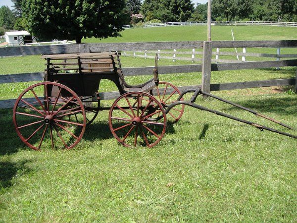 Rent this restored antique buggy!