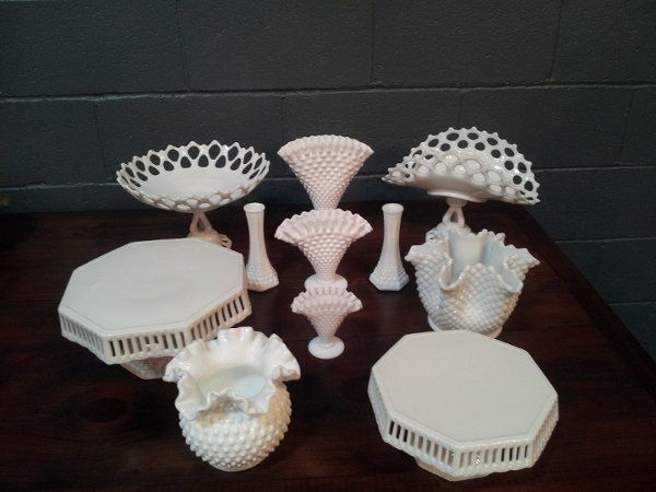 Some Of Our Milk Glass