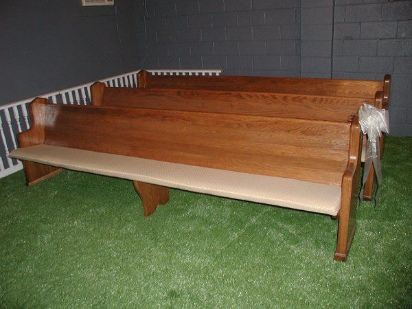 Beautiful Fully Restored Church Pews For Rent!