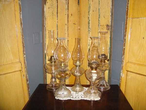 Some Of Our Oil Lamps