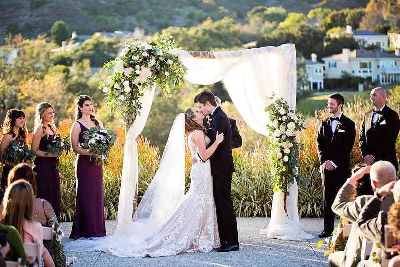 Gorgeous coto de caza golf & raquet club wedding ceremony