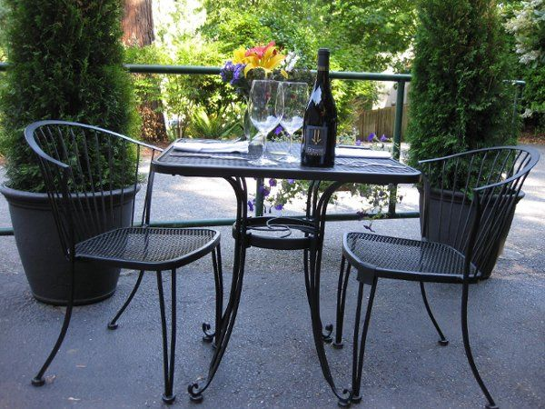 We also offer patio seating for large parties