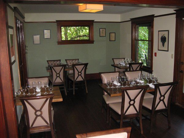 We'd love to host your forty-person seated party in our front dining rooms