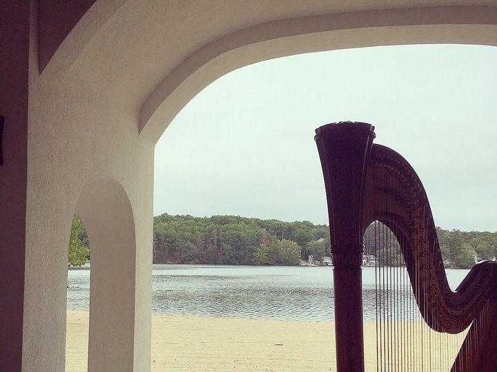 Tmx Harp At Lake Pearl Close Up 07 2018 51 64900 160824030156132 Sudbury, MA wedding ceremonymusic