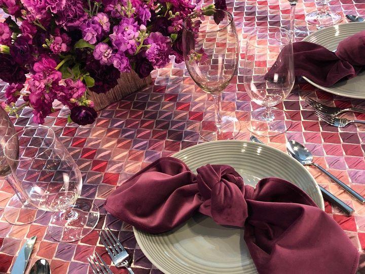 Tmx Diamond Gradient Lavender Table 51 535900 160132335540670 Fort Lauderdale, FL wedding rental