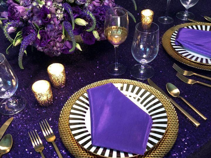Tmx Sequins Purple 51 535900 159959296957456 Fort Lauderdale, FL wedding rental