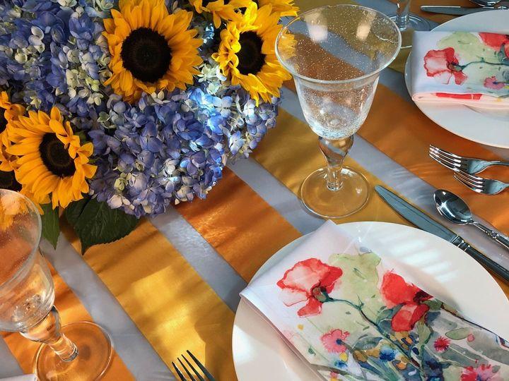 Tmx Sheer Stripe Yellow Table5 51 535900 160132233211715 Fort Lauderdale, FL wedding rental