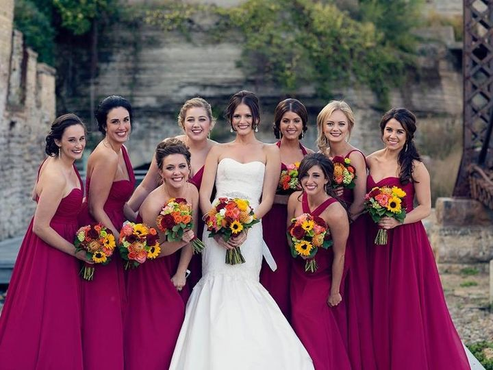 Tmx 1418241346820 Katiebrennanweddingparty10.4.14 Minneapolis, Minnesota wedding beauty