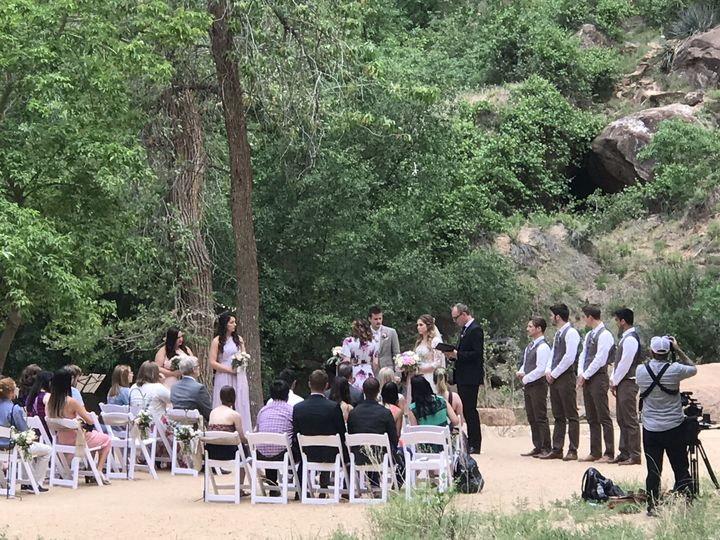 Incredible Zion NP wedding