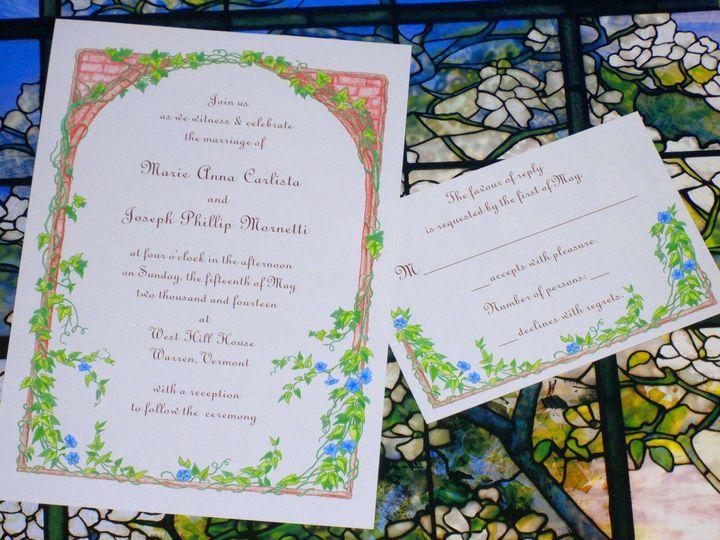 Tmx 1445531996965 Fairytale Vine Invite And Rsvp 2 Harwich, MA wedding invitation