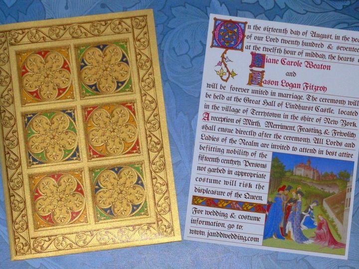 Tmx Tres Riches Cover Invite 2 51 120010 Harwich, MA wedding invitation