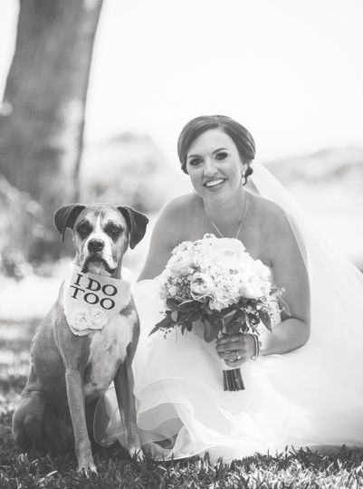 Yes we are Pet Friendly! Bring your best FURfriend to be apart of your special day!