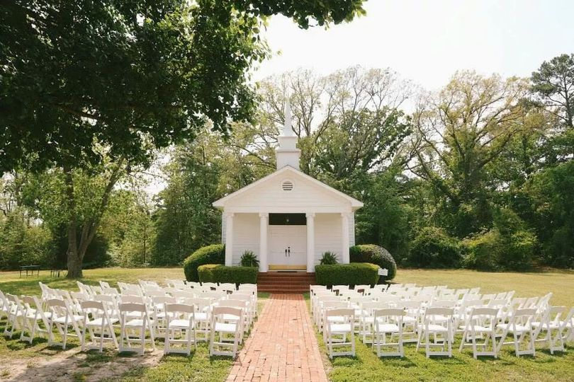 Historic Wedding Chapel, circa 1854.