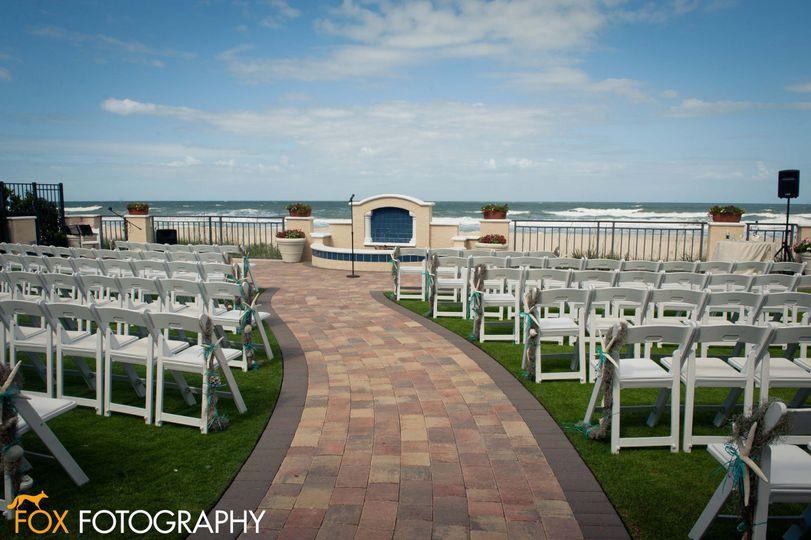 Ceremony on Ocean Lawn