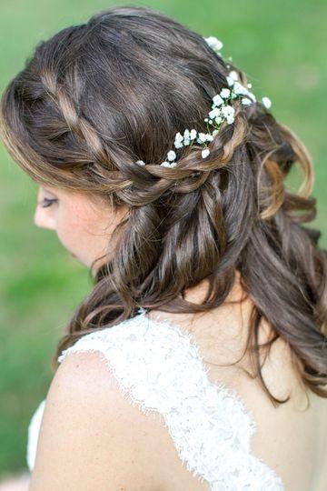 Greek hairstyle