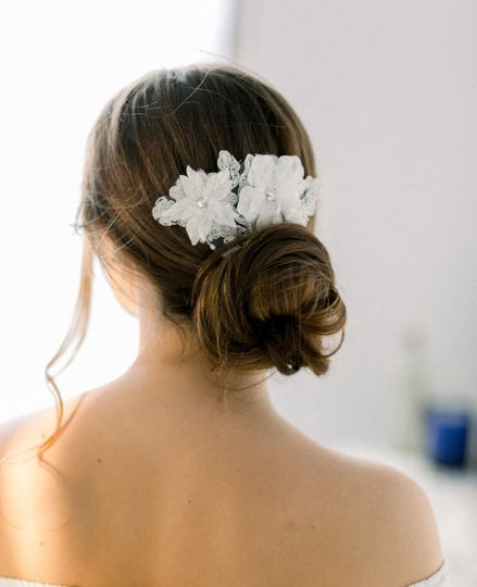 Flower hair design
