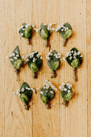 Custom Boutonnieres