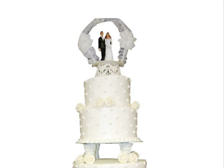 Tmx 1473178573866 W10 Brooklyn wedding cake