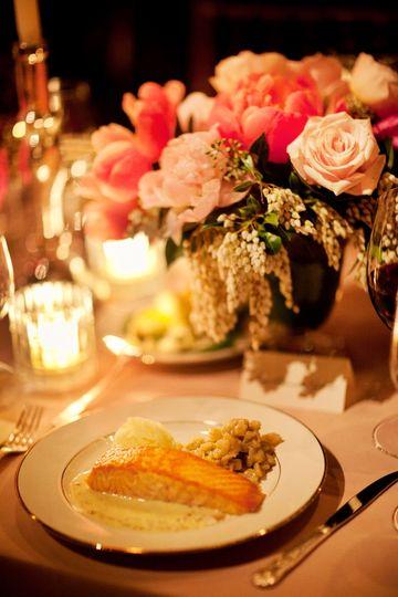 Enchanting table set-up
