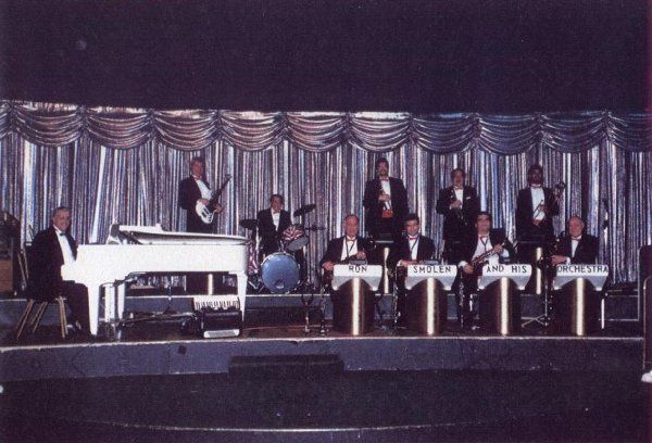 The Ron Smolen Orchestra at The Willowbbrook Ballroom, Willow Springs, Illinois 1996