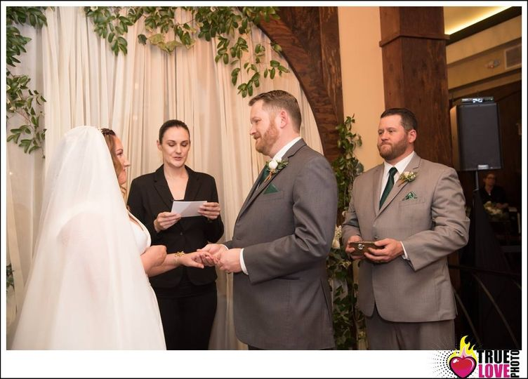 Officiant for Ashley and Ian