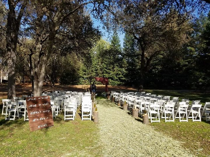 Tmx Alysha And Ronnie Ceremony Setup In Action 51 978010 159215546642011 Cleburne, TX wedding officiant