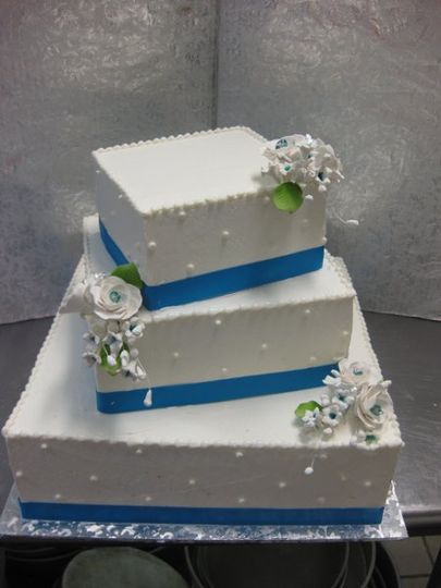 Contis Pastry Shoppe Wedding Cake New York