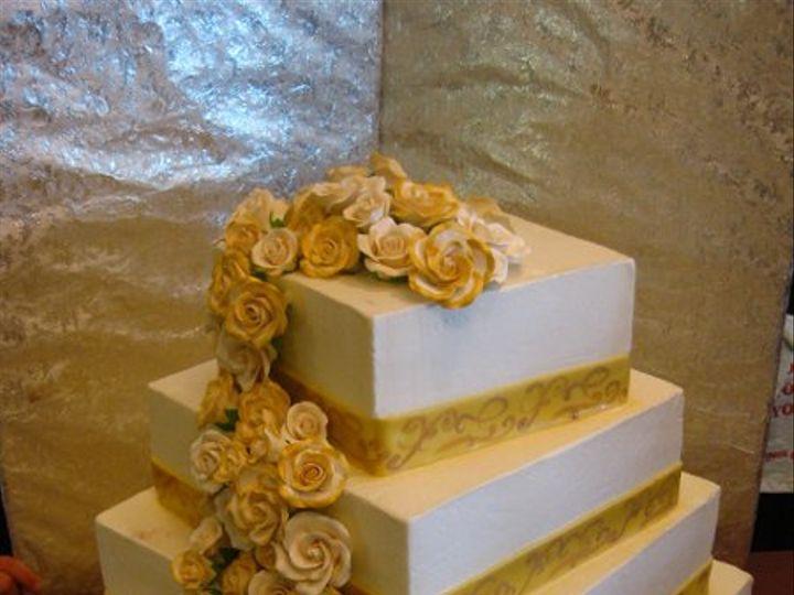 Tmx 1279832294812 5tiersqcascading2 Bronx wedding cake
