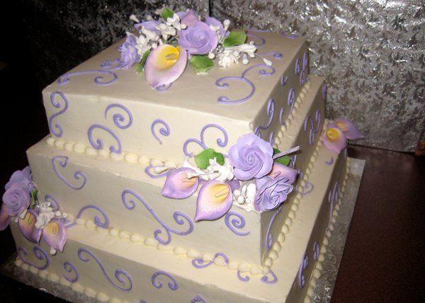 Tmx 1287700243076 Lavendertier2 Bronx wedding cake