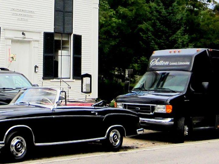 Tmx 1348596874736 ThreeCarDayFBCloseup North Conway wedding transportation