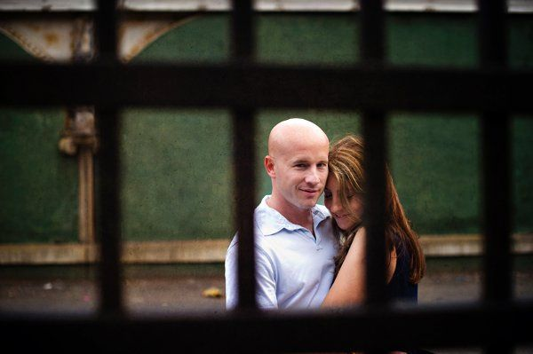 Julie & Jeremy - Engagement Portrait Hoboken, NJ