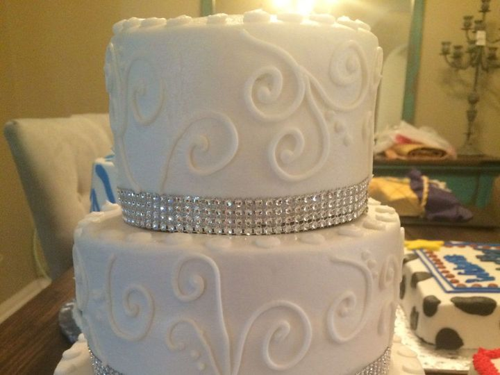 Tmx 1515347995 9c93ab8b2a0d2c56 1470016848839 Image Richmond, TX wedding cake