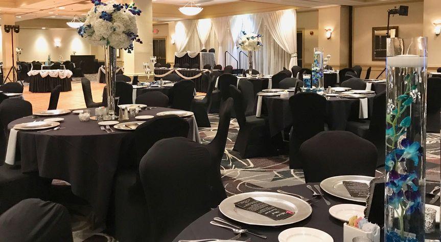 Reception in Grand Ballroom