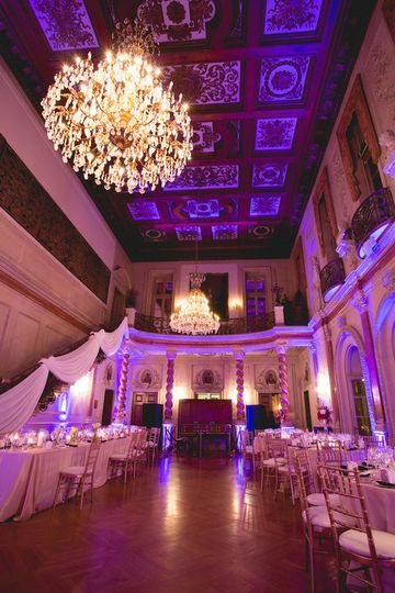 Elegant ballroom venue