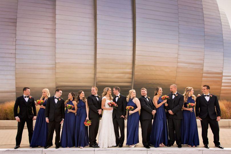 Kansas City Wedding Party