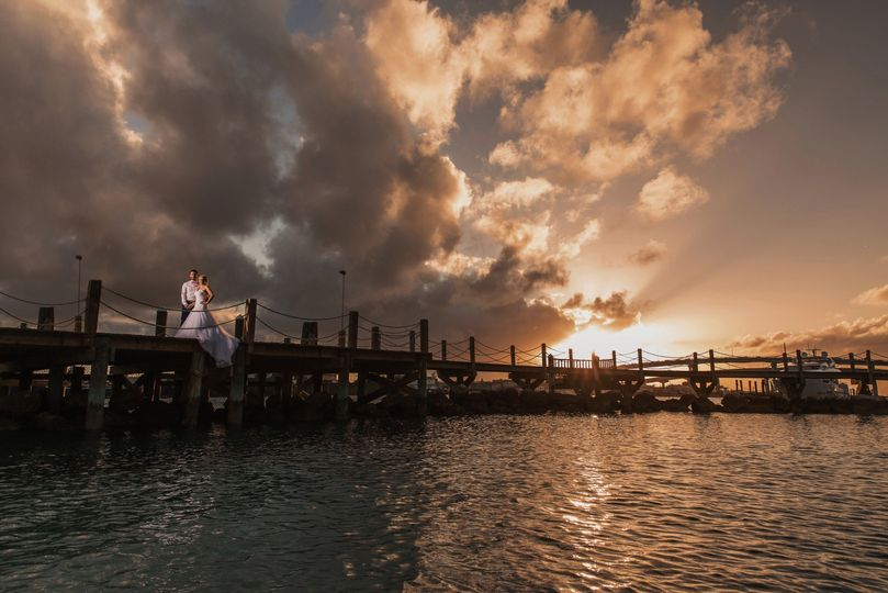 Bahamas Sunset Portraits
